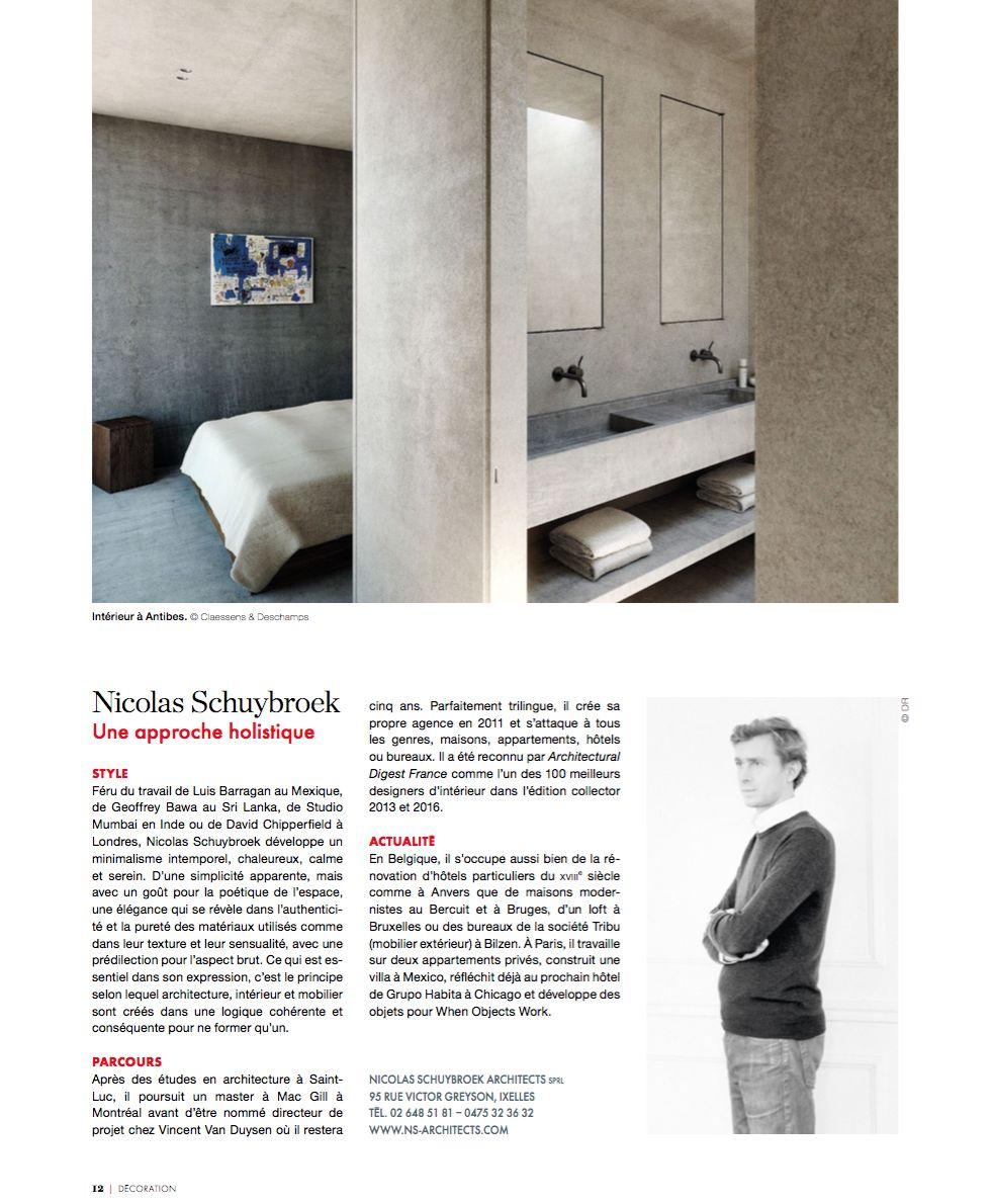 Architecte D Intérieur En Belgique nicolas schuybroek   press