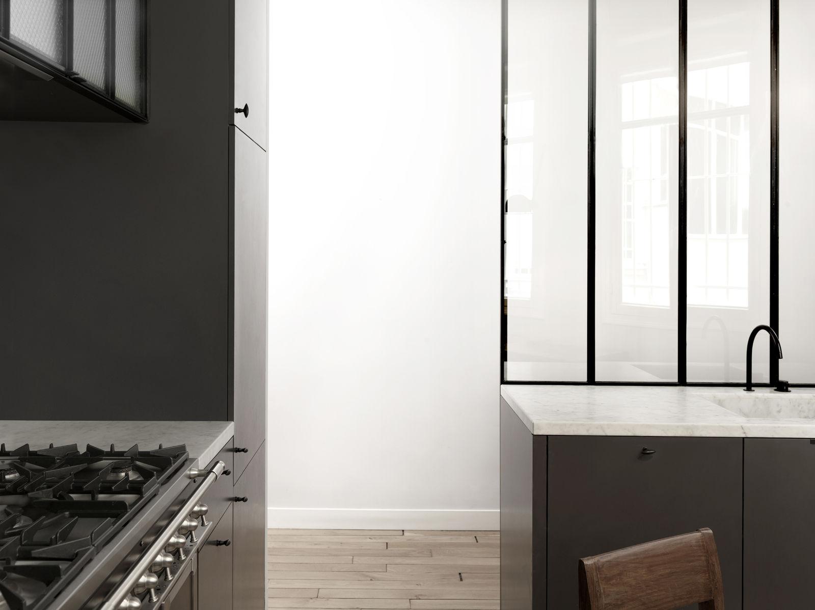 Nicolas schuybroek rk apartement - Cloison en verre style atelier ...